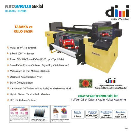 Dilli NEOSIRIUS Serisi HB1600